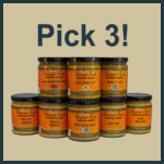 Nan's Mustard Blends - You Choose Three!
